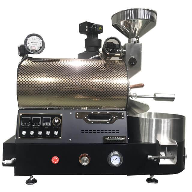 Kahve Dükkanı İçin 2Kg Gaz Kavurma Yükseltilmiş Versiyon Kahve Çekirdeği Kavurma Makineleri