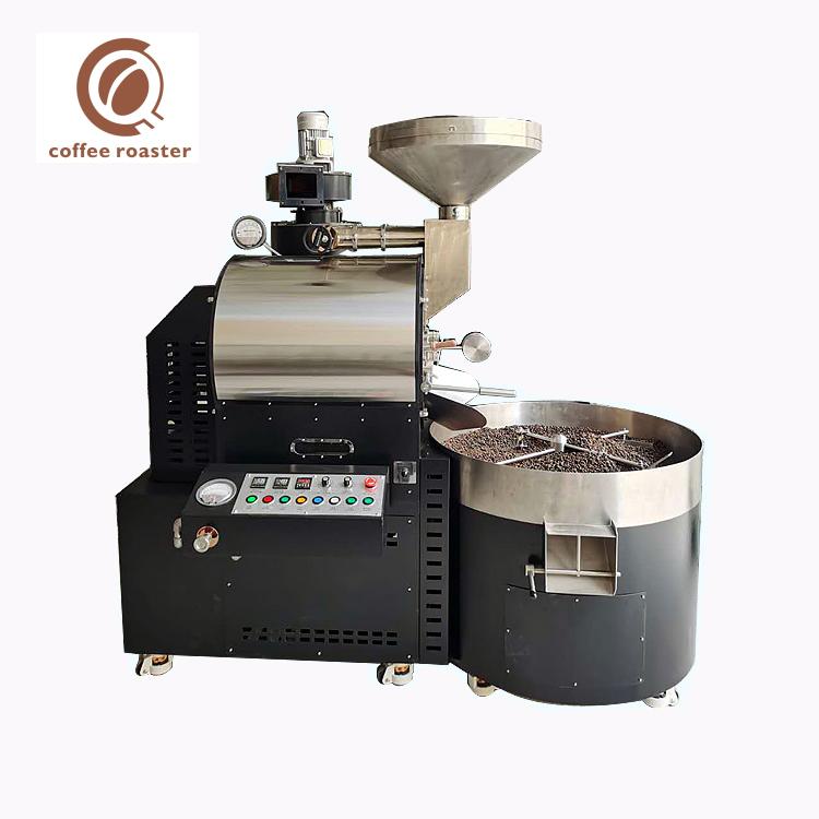 Kavurma Makinesi Kahve 15Kg Toplu Gaz Endüstrisi Kahve Kavurma Makinesi