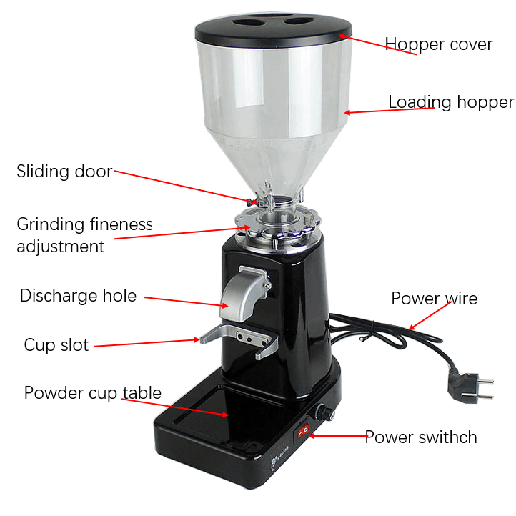 10kg coffee grinder small coffee milling machine 4