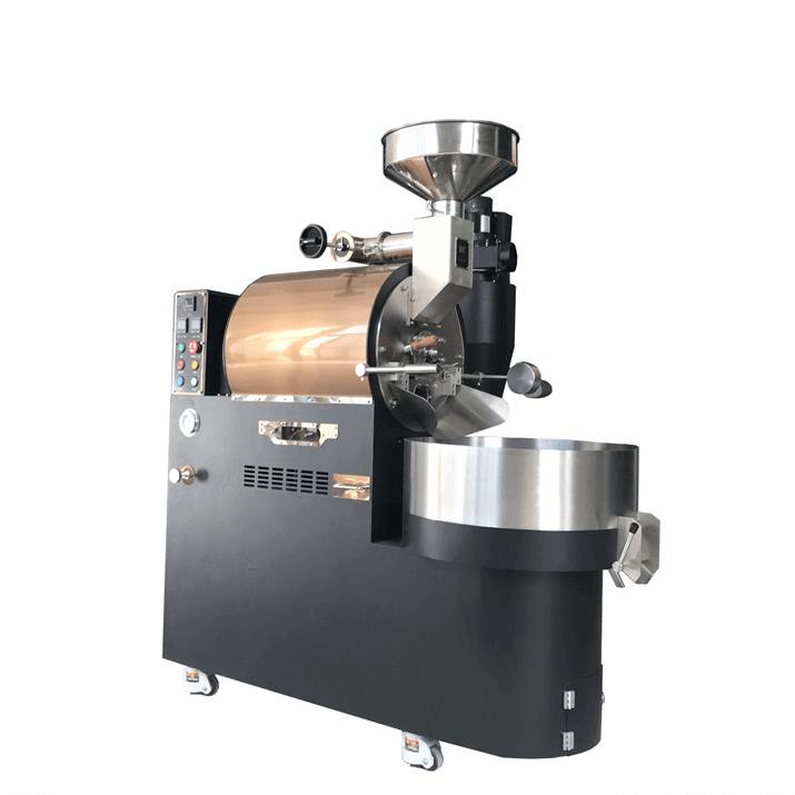 10Kg Gazlı Kahve Kavurma İtalyan Kahvesi Kavurma Makinesi Kahve