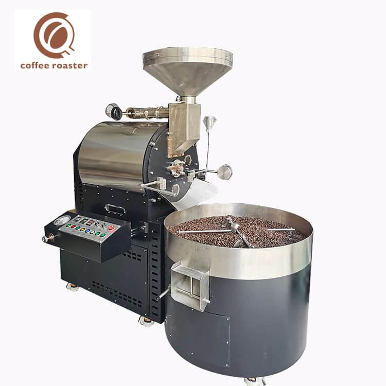 15Kg Cafe Makinesi Ticari Büyük Kapasiteli Kakao Çekirdeği Kavurma Makinesi