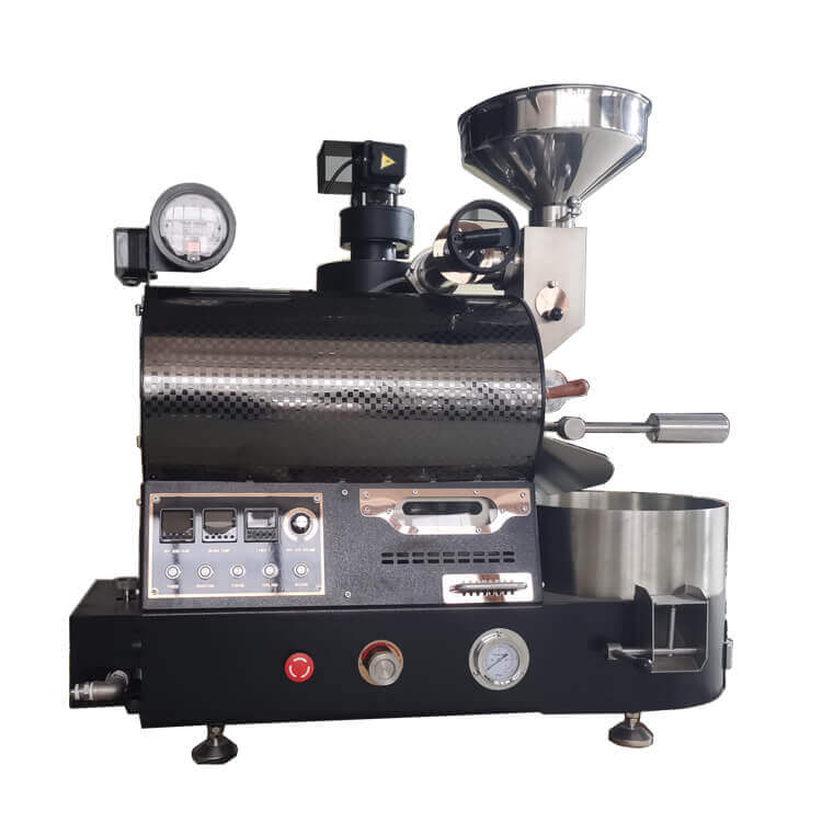 2kg gas roaster upgraded version coffee bean roasting machines for coffee shop 2