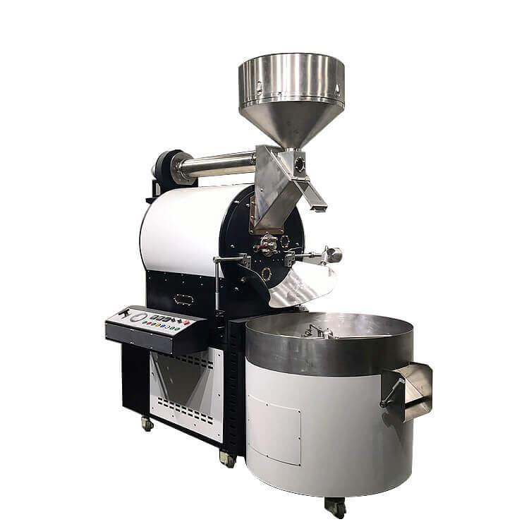 Satılık 30Kg Kahve Kavurma Çin Gaz Kahve Kavurma Ticari Kahve Kavurma
